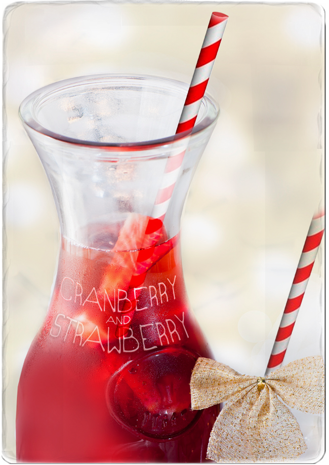Cranberry Strawberry Cooler